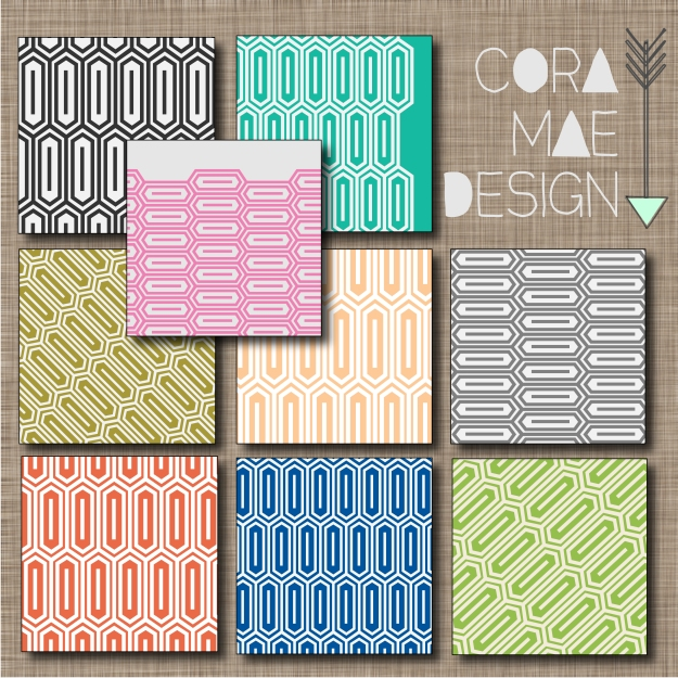 FREE HONEYCOMB PRINT DIGITAL PAPERS & IPHONE WALLPAPERS