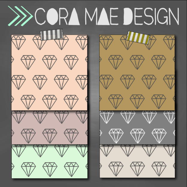 free diamond print digital papers, cell phone wallpapers, & facebook cover photos
